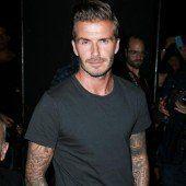 Beckham campierte im Regenwald