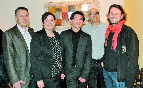 Thomas Boss, Daniela Gmeiner, Ljubisa Markovic, Zulfokar Al-Dubai und Konrad Steurer. Fotos: ame