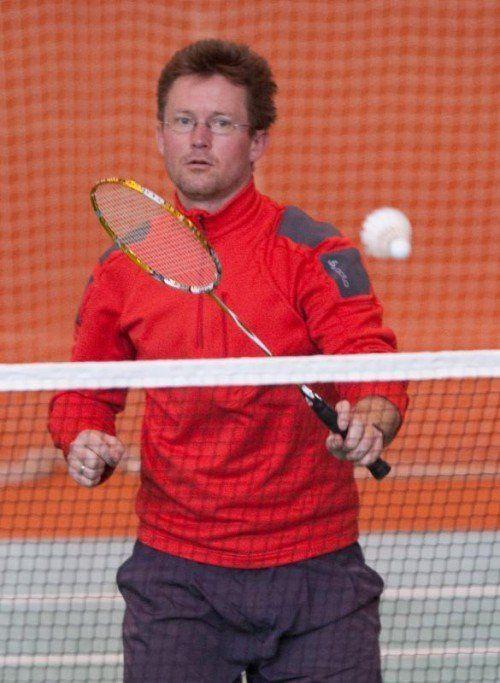 Thomas Fürschuß gewann erneut den Auftaktbewerb. Foto: kh