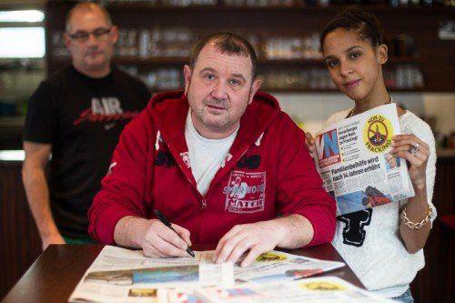Übers Wochenende hat die Unterschriftenaktion die 60.000-Grenze überschritten: 60.093 Namen stehen gegen Fracking am Bodensee. VN/PS