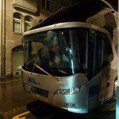 FC-Bus beschädigt