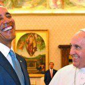 Obama lädt den Papst ein
