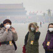 Smog schnürt Peking wieder den Atem ab
