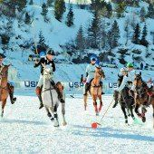 Schnee-Polo-EM in Gargellen