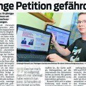 Regierung lenkt ein – Petition läuft weiter