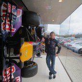 Ein Mellauer designt am Vettel-Auto