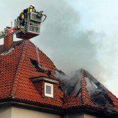 Zwei Mädchen sterben in Flammen