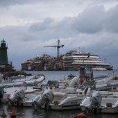 Costa Concordia doch noch länger vor Giglio
