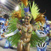 Karneval-Treiben in Rio ist auf der Zielgeraden