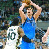 Nowitzki rückte in einen elitären NBA-Zirkel auf