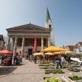 Die Messepark-Besucher shoppen auch in der Stadt