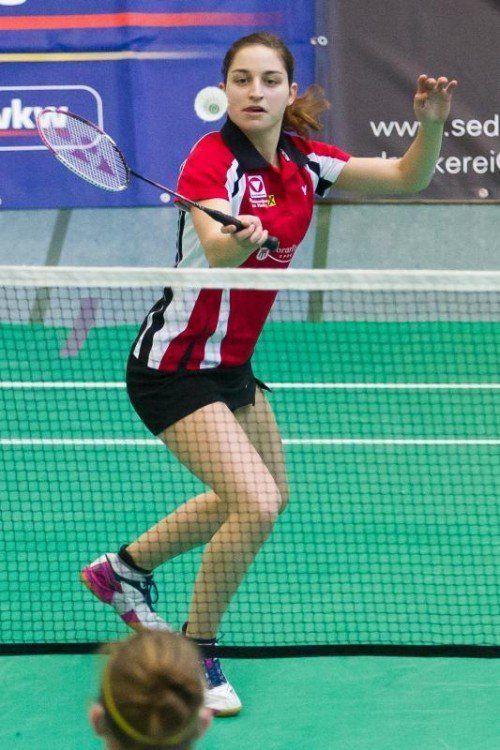Alexandra Mathis erreichte in Vilnius das Halbfinale.  steurer
