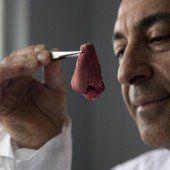 Ein britischer Forscher züchtet Nasen im Labor