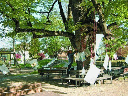 Am 23. April wuchsen Geschichten auf Bäumen. foto: privat