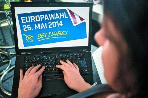 Am 25. Mai wird gewählt: Die VN laden junge Vorarlberger ein, ihre Vorstellungen für Europa zu beschreiben. Foto: VN/Steurer