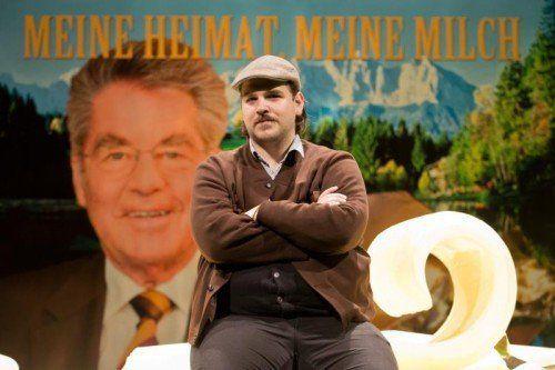 """""""Am Beispiel der Butter"""" von Ferdinand Schmalz wird vom Theater Kosmos aufgeführt. Foto: VN/Steurer"""