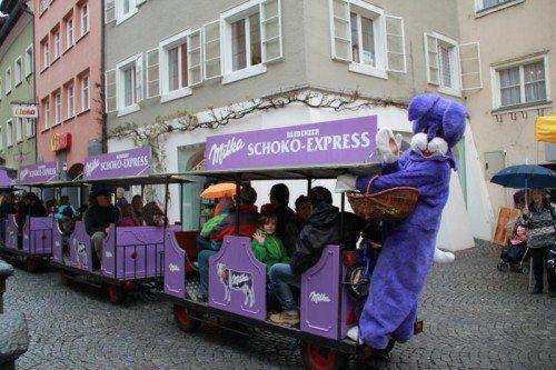 Am kommenden Samstag kommt der Osterhase nach Bludenz.  Stadt