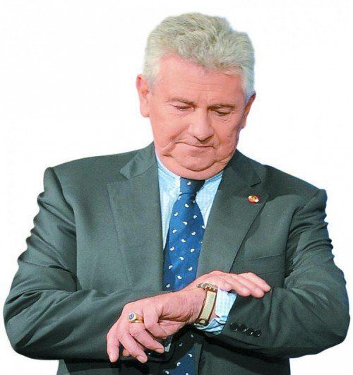 Andreas Mölzer: Zeit als EU-Abgeordneter abgelaufen. Foto: APA