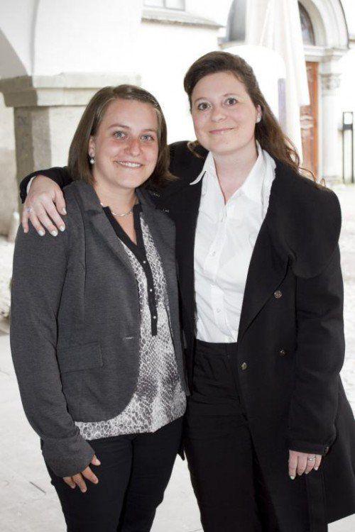 Anja Tschann (l.) und Veronika Büchel.