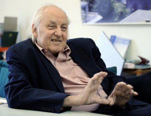Architekt Hans Hollein ist 80-jährig gestorben.  Foto: APA