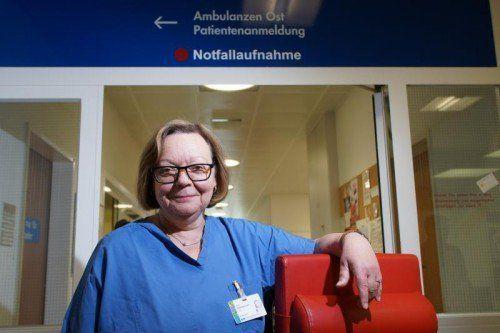 Angelika Dunkl war im Landeskrankenhaus Feldkirch eine Institution. Foto: vn/hartinger