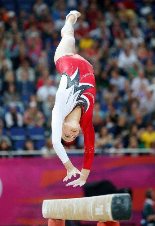 Barbara Gasser bei ihrem bislang letzten Wettkampf vor knapp zwei Jahren bei den Olympischen Sommerspielen in London. Foto: gepa