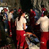 Zwei Schwerverletzte nach Unfall in Bergwerk