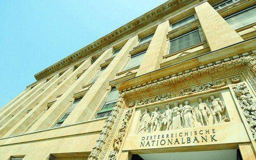 Bei der Nationalbank ist die Durchschnittspension höher als der Durchschnitts-Aktivbezug, berichtet der Rechnungshof. Foto: APA
