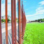 Gedenkstätte an die Berliner Mauer