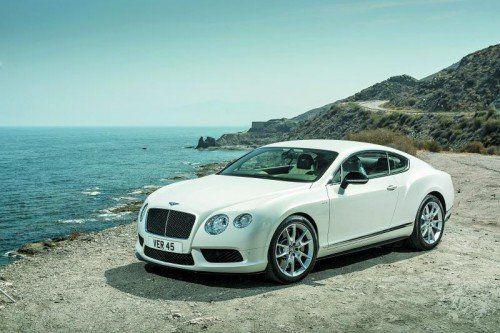 """Bentley Continental GT V8 S: ,,Drivers Car"""" mit noch mehr Dynamik – und mehr Reichweite. Fotos: Werk"""