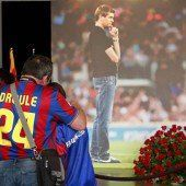 Tränenreicher Abschied von Tito Vilanova