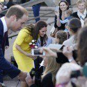Britische Royals begeistern Australier