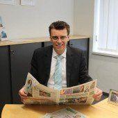 Die Zeitung deckt alle Themen ab