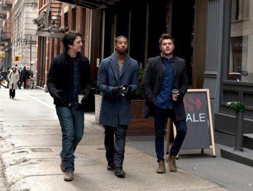 Daniel (Miles Teller), Mikey (Michael B. Jordan) und Jason (Zac Efron) haben nur Frauen im Kopf.  Foto: AP