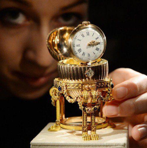 Das Fabergé-Ei hat schon einen Käufer gefunden.  Foto: EPA