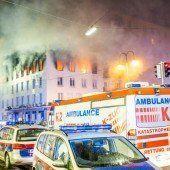 Eine Tote bei Brand in der Wiener Innenstadt