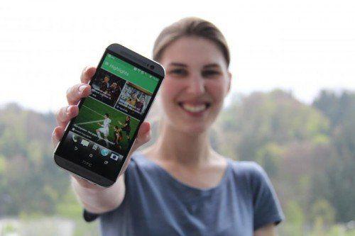 Das HTC One M8 kann mit vielen Neuerungen aufwarten.  Foto: VOL.AT
