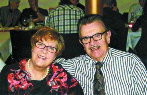 Das Jubelpaar an seinem Ehrentag – gesund und glücklich.