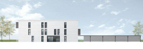 """Das Projekt, das sich """"Riva"""" nennt, geht nun an den Start. Benchmark ist ein Niedrigenergiehaus mit neun bis 12 Einheiten."""