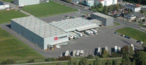 DB Schenker in Vorarlberg: Die Niederlassung bietet derzeit noch genug Platz.  Foto: DBS