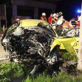 Taxifahrer (23) starb bei Frontalaufprall