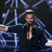 Ricky Martin wird beim Life Ball im Mai einheizen