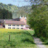 Lochau. Ausgewaschener Schlossweg