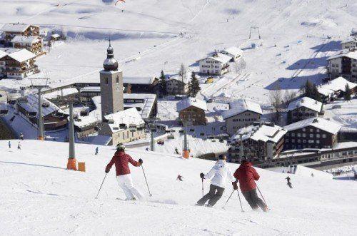 Auch die Skiregion Arlberg musste in dieser Saison ein Minus von 5,7 Prozent hinnehmen.  Foto: LT/Peter Mathis