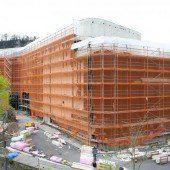 Montforthaus: Gute Buchungslage