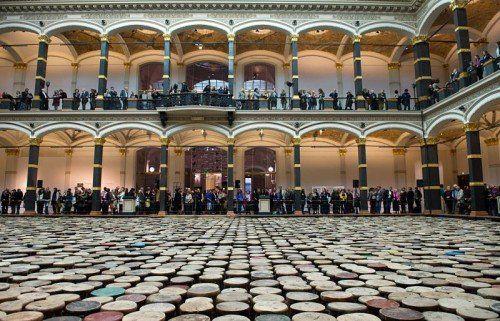 Die Berliner Ai Weiwei-Ausstellung erweist sich als gute Ergänzung zu jener in Bregenz. Fotos: dpa