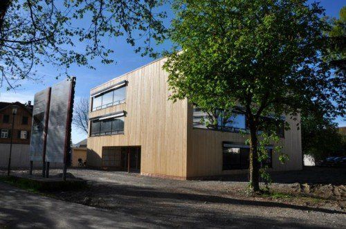 Die Fertigstellung des Kindergartens um rund 2,8 Millionen Euro ist für den Sommer 2014 geplant.  lcf