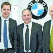 Die Geschäftsführer Dieter Unterberger, Markus Spiegel und Josef Gruber (v. l.).