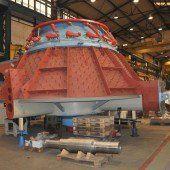 44-Tonnen-Turbinen gehen bald auf die Reise