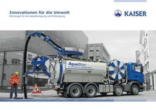 Die Kaiser AG wird mit dem Zukauf zum führenden Unternehmen bei Kanalreinigungsfahrzeugen.  Foto: Kaiser AG